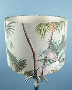 tropical print palm table lamp shade 30cm cheeky tiki ltd With 30cm x 30cm lamp table