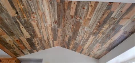 blue pine wall planks paneling beetle kill