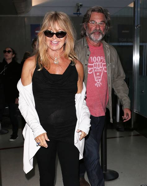 goldie hawn kurt russell   strong photo