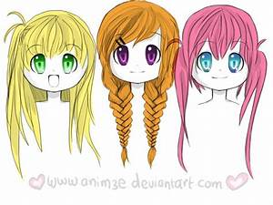 Anime Girl Hairstyles Braids | www.pixshark.com - Images ...