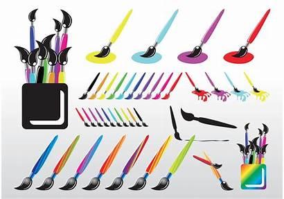 Brush Paint Vector Brushes Paintbrush Clipart Painting