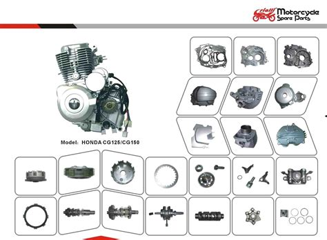 Motorcycle Spare Parts For Honda Cg125/cg150 Engine