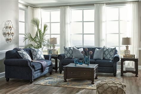 discount sofa lavernia navy loveseat from coleman furniture