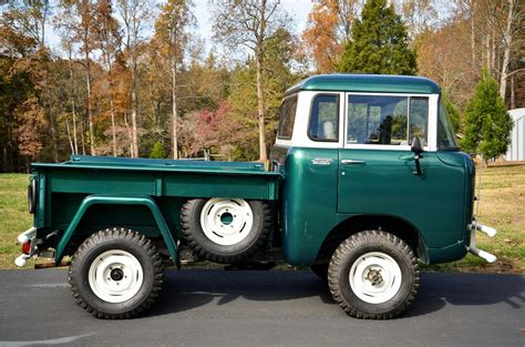 willys jeep truck green 1961 willys fc150 pickup 161859