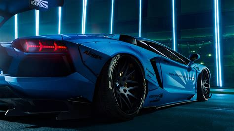 wallpaper lamborghini aventador lb performance body kit
