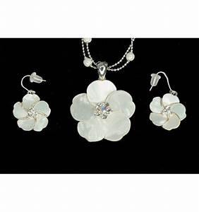 parure de bijoux en nacre parure de bijoux fleur nacre With bijoux en nacre