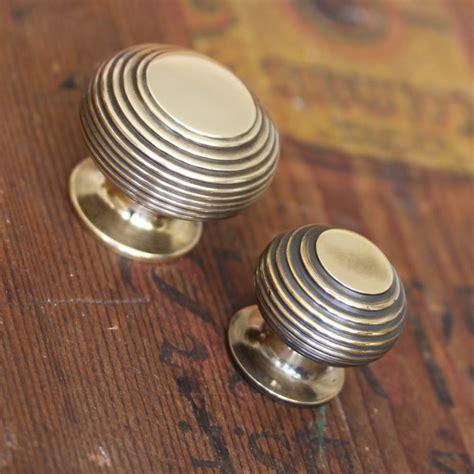 brass kitchen knobs brass cabinet hardware 10 mm inset selfclosing polished