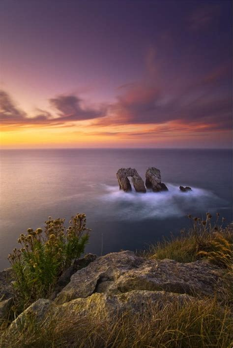 Breathtaking Scenery Off Cantabrian Coast By Jose Ramon