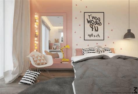chambre grise et poudré deco chambre fille 7 couleur des murs dune