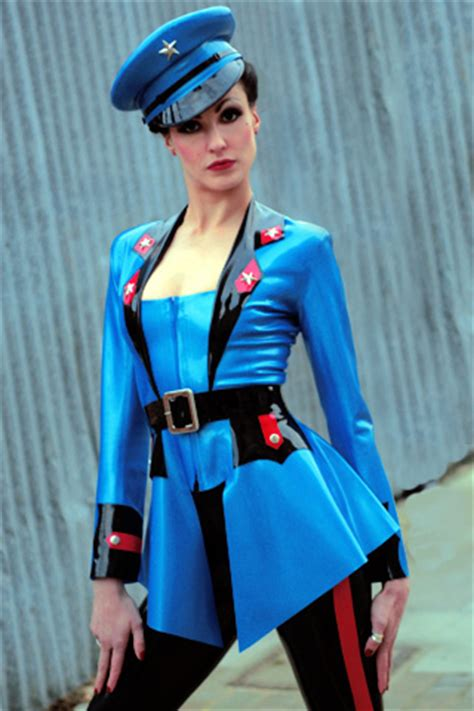 breathless womens latex rubber uniforms