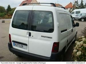 Partner Peugeot Occasion : peugeot partner 2l hdi 90cv 2places 2001 occasion auto peugeot partner ~ Medecine-chirurgie-esthetiques.com Avis de Voitures