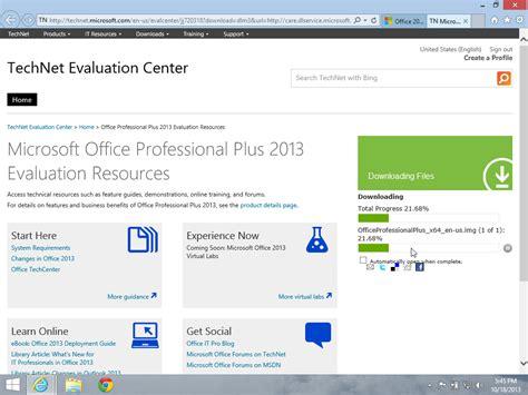 Downloading the OfficeProfessionalPlusx64enusimg file