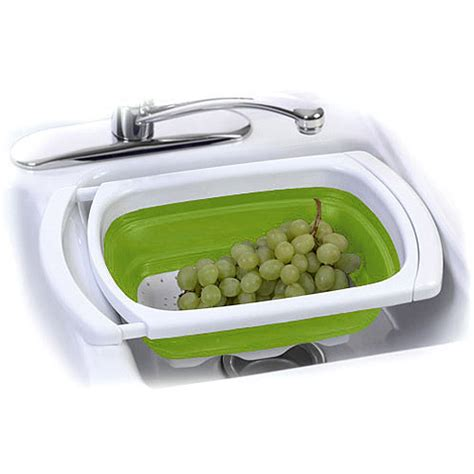 progressive collapsible and expandable over the sink