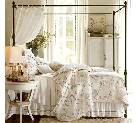 metal canopy bed white with curtains cool home creations the look for less canopy bed