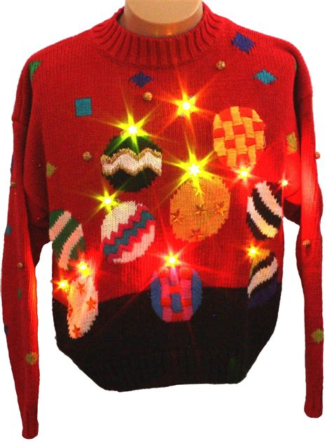 light up ugly sweater womens light up ugly christmas sweater retro look