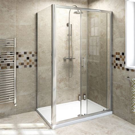 sliding shower enclosure    victoria plumb