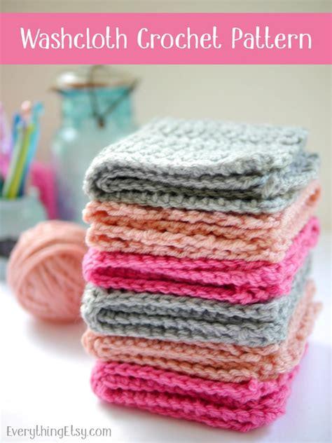 crochet washcloth instructions crochet washcloth pattern free everything etsy bloglovin