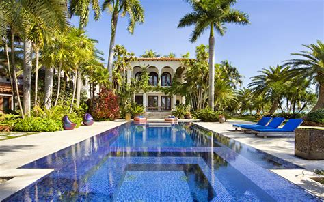 Home Luxury Lifestyle :  The Best Vacation Houses In Miami