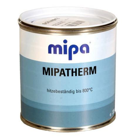 hitzefester lack schwarz mipa mipatherm thermolack