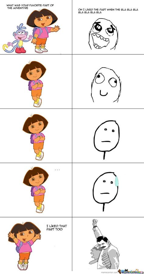 Memes Dora Explorer - dora by nbur4556 meme center