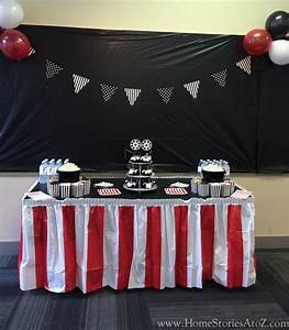 Movie Themed Birthday Party - Home Stories A to Z
