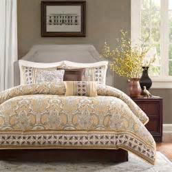 beautiful elegant modern gold grey beige silver taupe brown scroll comforter set ebay