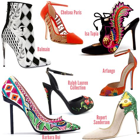 Summer Casual & Party Wear Shoes Trends For Women 2014