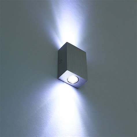 modern 6w 2 3w led wall l sconce light fixture
