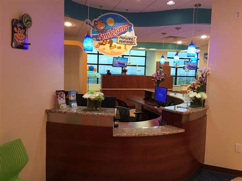 dental front desk in md office tour pediatric dentist in silver