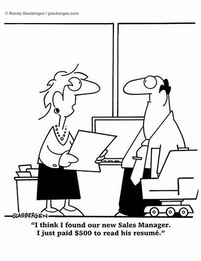 Sales Glasbergen Cartoon Cartoons Manager Hr Quotes