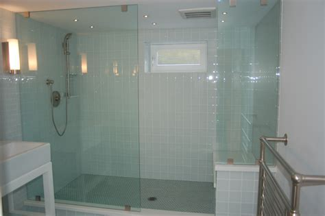 White Bathtub Surround At Cream Marble Wall Panel With