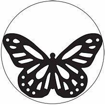 monarch butterfly stencil clipart best With martha stewart butterfly template