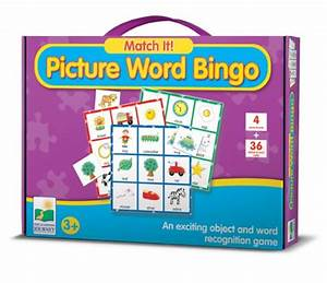 the learning journey match it picture word bingo pc With the learning journey match it 4 letter words
