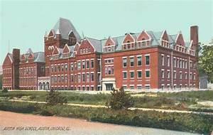 POSTCARD – CHICAGO – AUSTIN HIGH SCHOOL – 1909 | CHUCKMAN ...