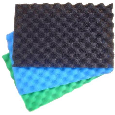 floor scrubber pads for pond filter 11 x 17 quot fish pond foam filter sponge set