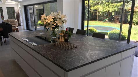 image result  leathered black quartz black granite