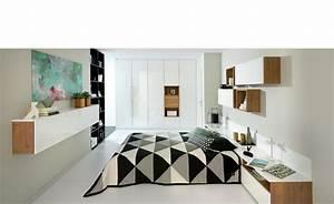 Meuble suspendu pour chambre jakarta un rangement pour for Salle À manger contemporaineavec lit meuble