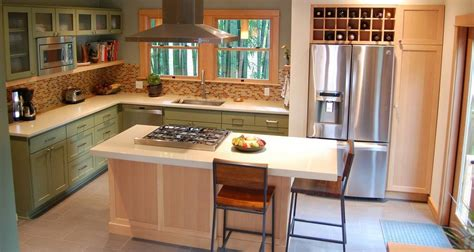 what to put on a kitchen island where would you place the fridge in your home