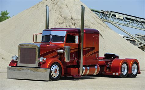 Custom Semi Truck Wallpapers by Peterbilt Semi Trucks Vehicles Color Wheels 18