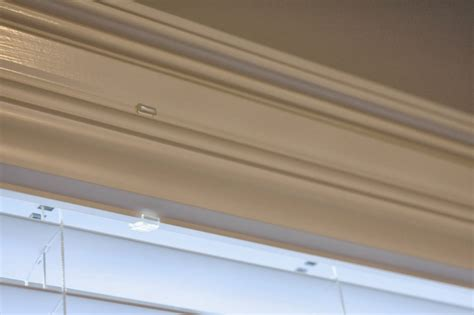 diy simple blind valance repair simply organized