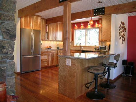 Kitchen Peninsula by Kitchen Peninsula Baseboard Transition Sitting Area On