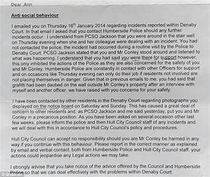 tenant forced to take down warning signs about drug With letter from drugs to addict
