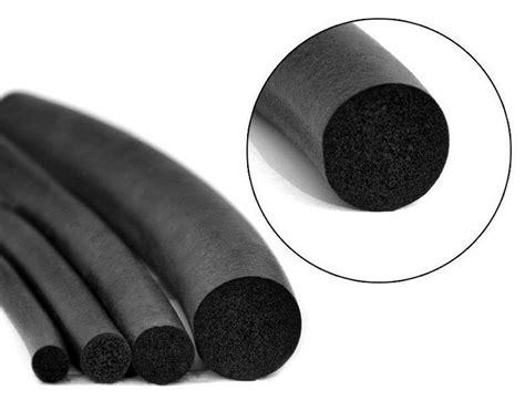 1-3m Epdm Sponge Rubber Round Seal Strip,diameter 3,4,5,6