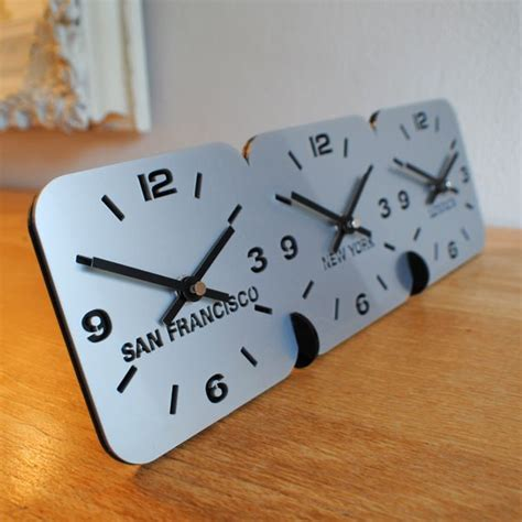 world time zone desk clock personalised desk table time zone clock us