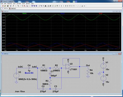 Operational Amplifier Ground Active Circuit