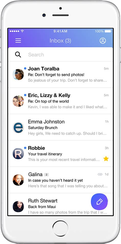 yahoo mail app for iphone yahoo mail introducing the new yahoo mail app