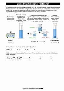 Chemie Dichte Berechnen : datei arbeitsblatt dichte bestimmung bei feststoffen als chemie digital ~ Themetempest.com Abrechnung