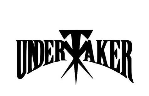 undertaker dead nxt wrestler vinyl decal