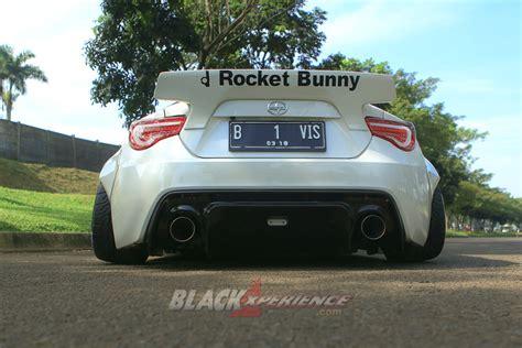 Modifikasi Toyota 86 by Modifikasi Toyota Ft86 Rocket Bunny Blackxperience
