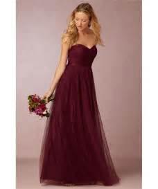 burgundy wedding dresses burgundy bridesmaid dresses types ideas and styles carey fashion